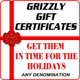 Gift Certicates for Holidays