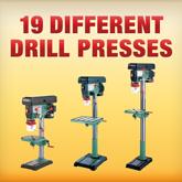 18 Different Drill Presses