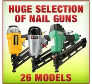 Huge Selection of Nail Guns 68 Models