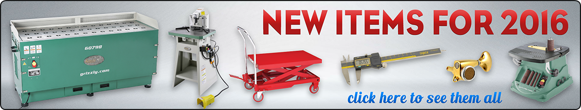 New Items for 2016