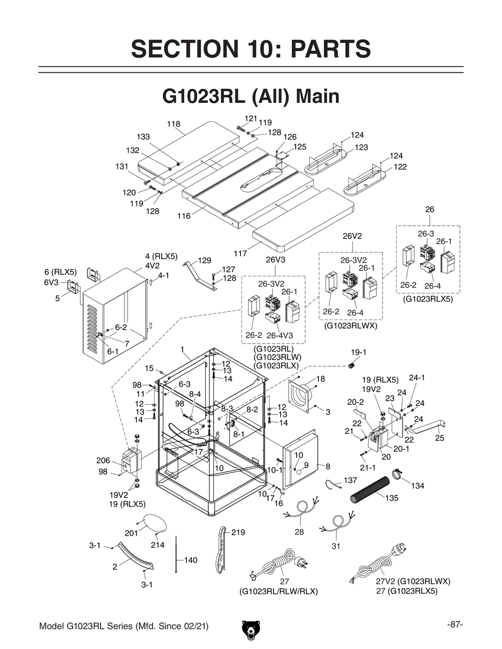 220 wiring diagram for 2 hp grizzly table saw 45 wiring diagram g1023rlpl11000 shop tools and machinery at grizzly com 220 wiring diagram for 2 hp grizzly table greentooth