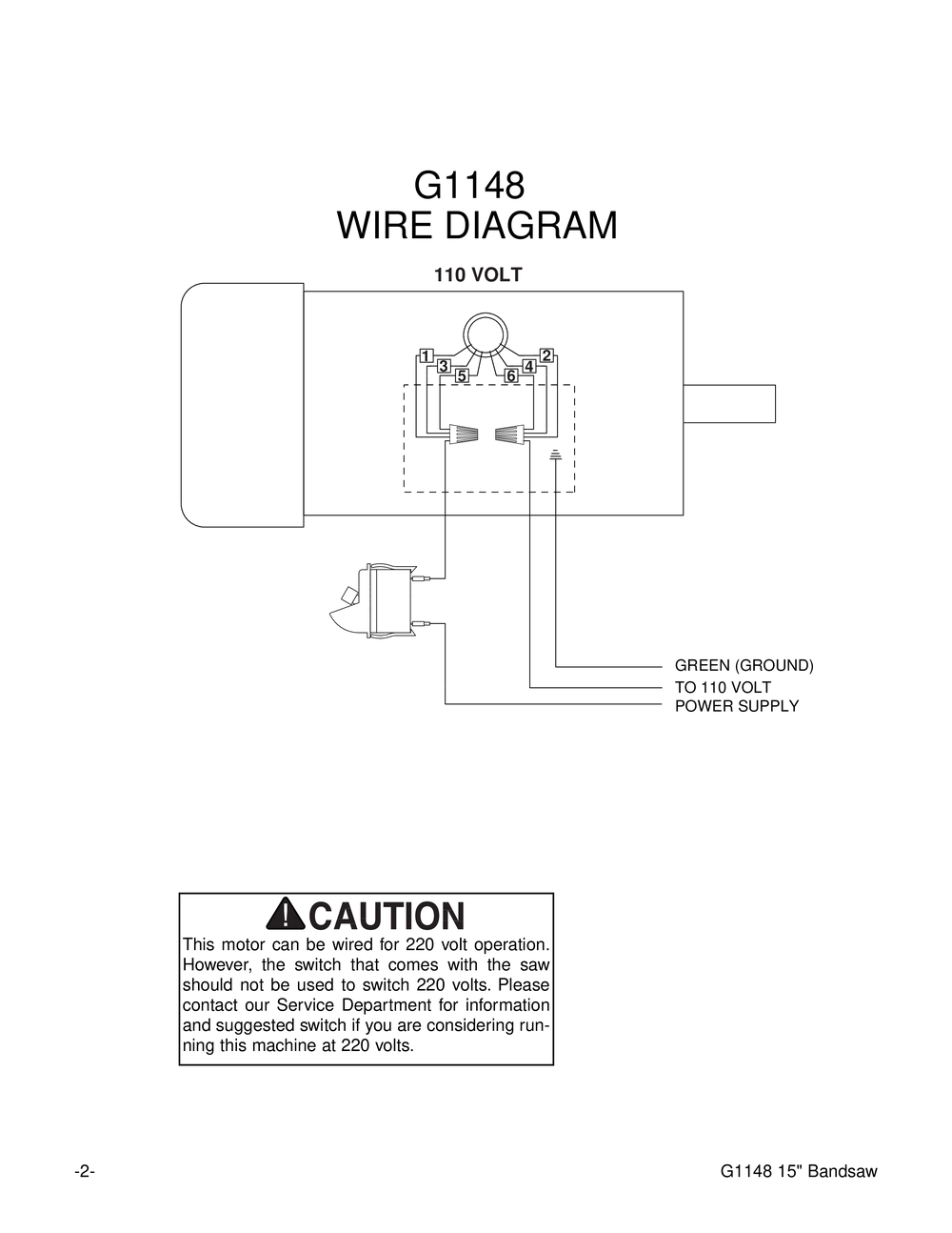 g1148_pl_2_1000 grizzly 16 bandsaw for sale wiring diagrams wiring diagrams lcat24 wiring diagram at gsmx.co