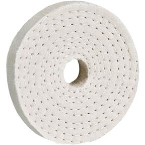 Woodstock D3083 Soft Spiral Sewn Buffing 6-Inch by 40 Ply