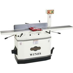 "W1741S — Shop Fox 8"" Jointer with Adjustable Beds and Spiral Cutterhead"