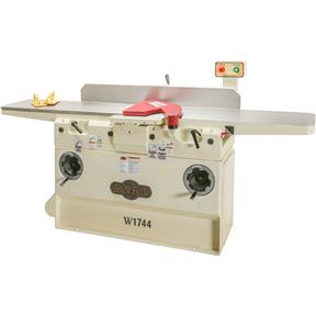 "W1744 — Shop Fox 12"" Heavy-Duty Jointer with Adjustable Beds"