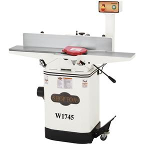 """W1745 — Shop Fox 6"""" Jointer with Mobile Base"""