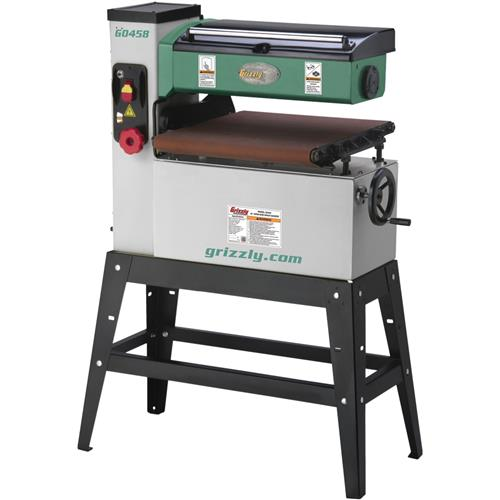 """18"""" 1-1/2 HP Single-Phase Open End Drum Sander 