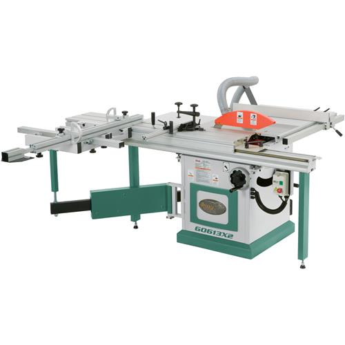 10 7 1 2 Hp 3 Phase Extreme Series Sliding Table Saw Grizzly Industrial
