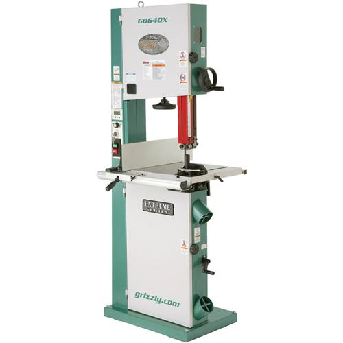 "g0640x grizzly 17"" metal/wood bandsaw w/inverter motor 690550706400 ..."