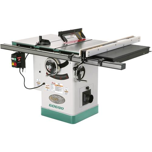 10 3hp 220v cabinet table saw with riving knife grizzly For10 Cabinet Table Saw