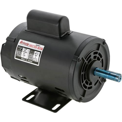 G2901 Grizzly Motor 1 2 Hp Single Phase 1725 Rpm Open 110v