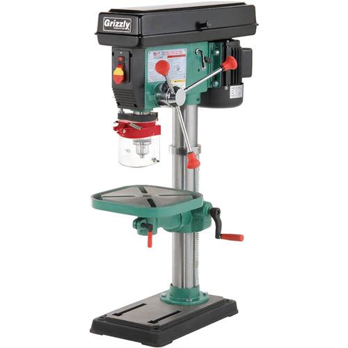 12 Speed Heavy-Duty Bench-Top Drill Press | Grizzly Industrial