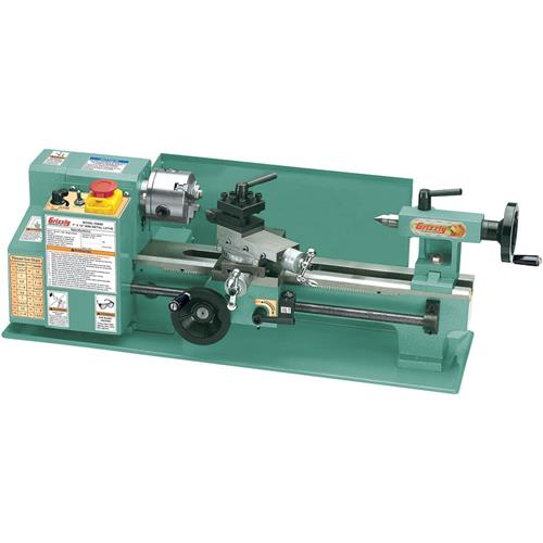 "You Model And Act Reviews >> 7"" x 12"" Mini Metal Lathe 