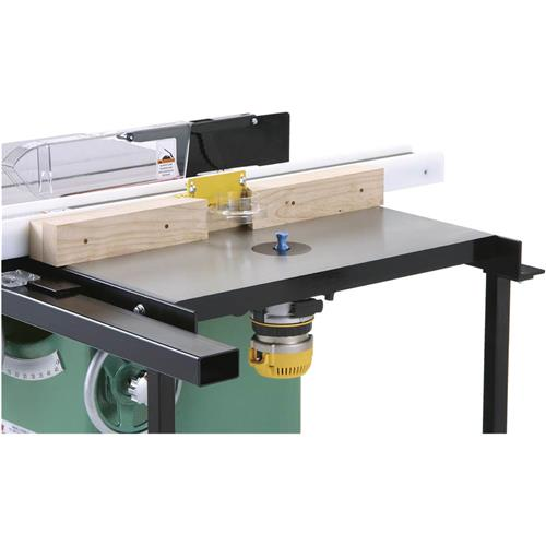 Router Extension Table For Table Saw Grizzly Industrial