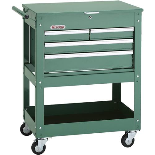 h7728 grizzly rolling tool cart w/ 4 drawer tool chest 690550177286 ...