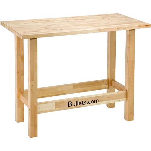 T10730 Bullets Com 48 Quot Birch Reloading Workbench