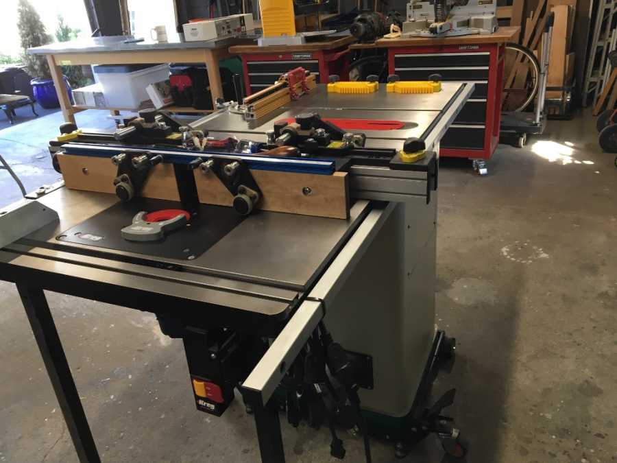 10 hybrid table saw with t shaped fence grizzly industrial Table saw fence reviews
